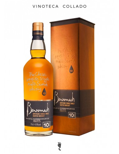 Whisky Benromach 10 Años