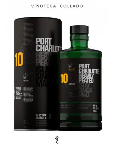 Whisky Port Charlotte 10 Años