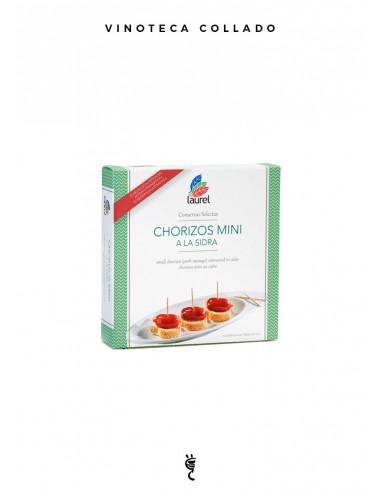 """Chorizos """"Mini"""" a la Sidra Lata 275 gr"""