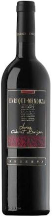 Enrique Mendoza shyraz – cabernet sauvignon reserva 2013