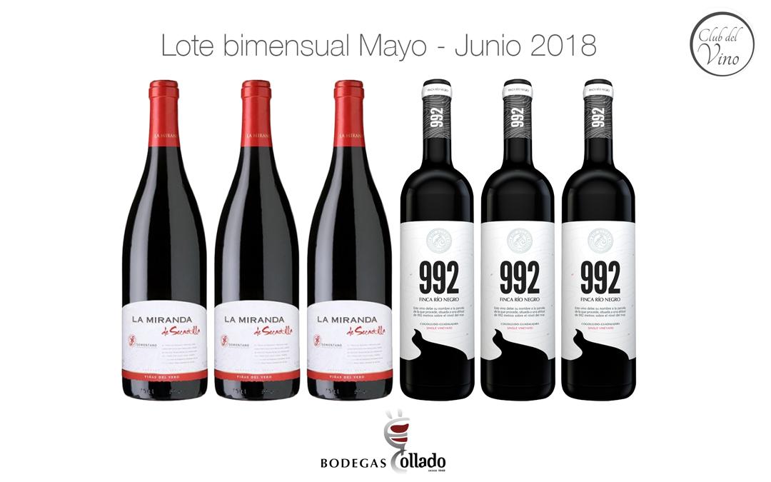 Lote bimensual Mayo – Junio 2018