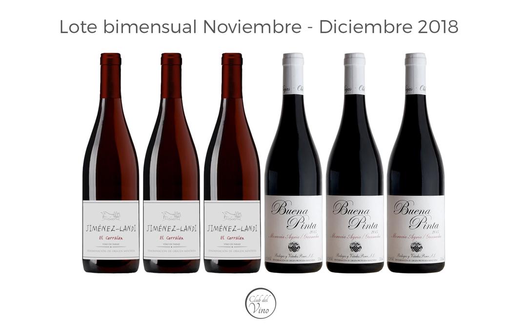Lote bimensual Noviembre – Diciembre 2018