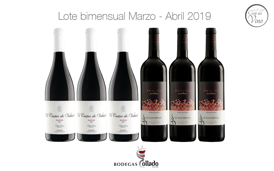 Lote bimensual Marzo – Abril 2019