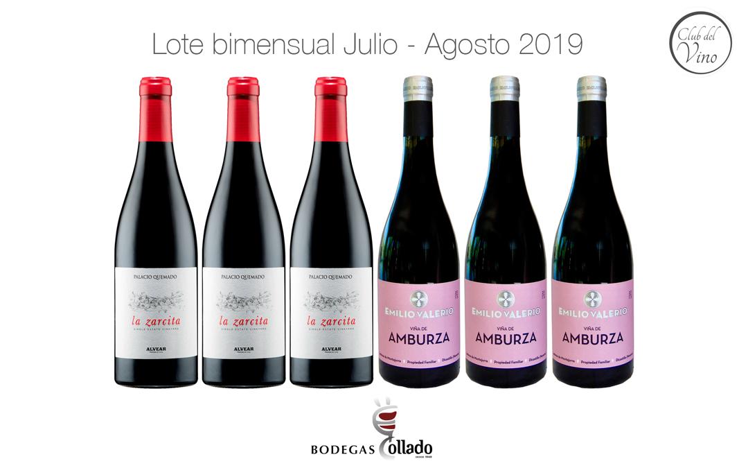 Lote bimensual Julio – Agosto 2019