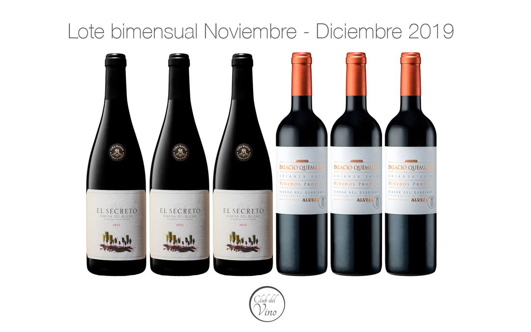 Lote bimensual Noviembre – Diciembre 2019