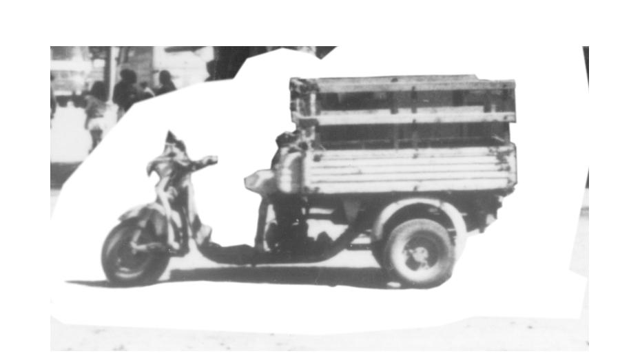 Motocarro de Bodegas Collado